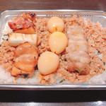 炭火焼鳥 とりとも - ◆焼き鳥入りそぼろ弁当(持ち帰り) 1,350円