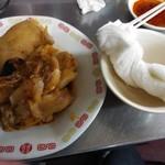 中華料理 相一軒 - 豚足とおしぼり