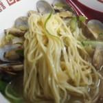 中華料理 相一軒 - 麺アップ