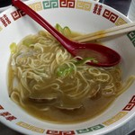中華料理 相一軒 - スープは良く麺に絡む