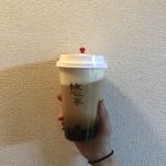 悠茶 - 岩塩チーズクリーム紅茶 タピオカトッピング570+税