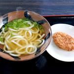 牟礼製麺 - かけとコロッケ
