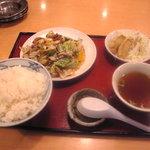 1060813 - 日替わりランチ定食の中華