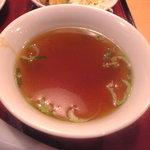 1060816 - 日替わりランチ 中華定食 スープ