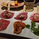 昇家 - カウンター2枚肉