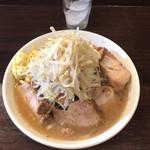 ピコピコポン - 豚増しラーメン+生姜(野菜増し)1,080円