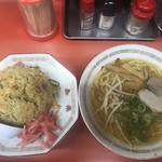 泰県 - 焼飯ラーメン定食(680円)