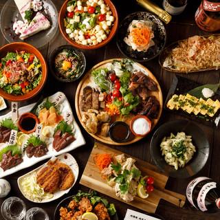 ★肉宴会★美味しいお肉が彩る宴会コースは2,980円〜!