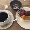 カルトン - 料理写真:やわらかチーズふんわりショコラとブレンドコーヒーのセットで580円