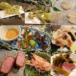 魚貝三昧 げん屋 - 本日も様々な料理をいただきました~