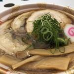 麺や 清流 - 甲子園ラー祭王道の中華そば(チャーシュートッピング)