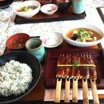 いちょう - 料理写真:月定食1680円です。