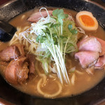 自己流ラーメン綿麺 - 和風ちゃーしゅー大盛り♪ 1.250円
