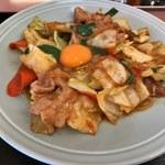 ランチハウス ミトヤ - 野菜と肉野のタレ焼き