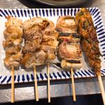 博多串焼き バッテンよかとぉ - 5串盛り