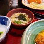 まるつ - かつ煮込み定食 650円