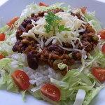バー・マルコポーロ - 3種豆のメキシカンタコライス