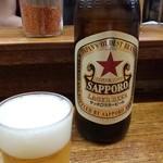 こづち - 晩酌に瓶ビール