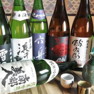 日本酒も充実!!