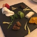 都橋ミルピグ - チーズ2種盛り合わせ