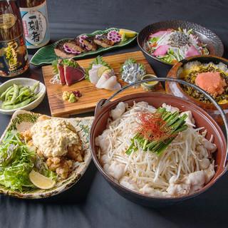 【ご宴会】九州厳選食材を堪能できる飲放付コースがおすすめ!