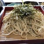 やかた製麺 - 料理写真:ざるそば 800円。