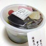 """福尾商店 - """"抹茶あんみつ"""""""