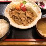 106034254 - ◆豚ロース生姜焼き定食 1,050円