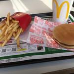 マクドナルド - ダブルチーズバーガー