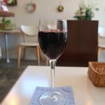 カフェ スペース 風音 - グラスワイン赤