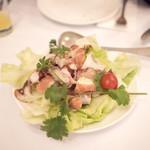 Escada - ポルトガル風のタコサラダ これが一番美味かった。タコがぷりっぷり