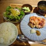 106039239 - 大山鶏のモモ焼き定食