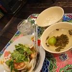 Mai mai - 大好物の海老南部炒め  玉葱も旨いんだ
