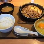 106042517 - すき焼き定食