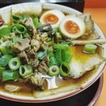 106043913 - チャーシュー麺(大)+ 味玉