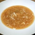 106045955 - ☆フカヒレと毛蟹のスープ