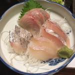相模屋 - 【お刺身】 ほうぼう、太刀魚、スズキ、アイナメ