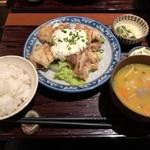 106049906 - 2019.4.9  チキン南蛮定食
