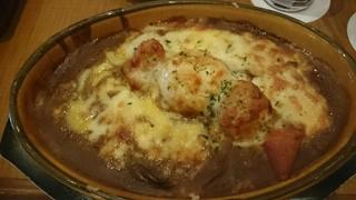 ERCOLANO - 卵とチーズの焼きカレー