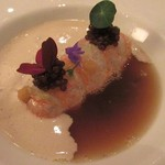 RESTAURANT LE TAILLEVENT - 料理写真:前菜の「アカザエビ」