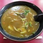 萬福飯店 - 料理写真:カレーラーメン‼️