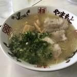 ラーメンやまもと - 料理写真:シナチクラーメン=670円