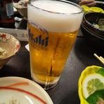 松乃寿し - 生ビール