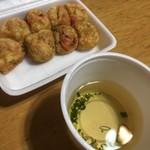 大阪たこ焼き なんしか - ころころ焼き 出汁350円