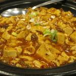 中華料理 龍騰 - 麻婆豆腐定食(780円)