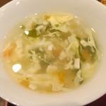 中華料理 龍騰 - スープ