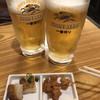 蕎麦ダイニング 喜楽庵 纔 - 料理写真:ビールで乾杯
