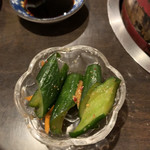焼肉つるや橿原 - キムチ(きゅうり)♡¥200(税抜)
