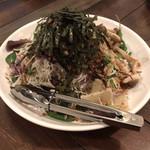モータウン ダイナー - あったかキノコ和風のサラダ  740円