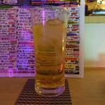 薬酒BAR Toyohashi - はしご酒には肝機能を労りウコンカクテルを頂きます